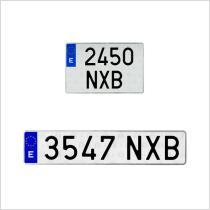 Placas de Matricula para Vehiculos  Placas de Matricula